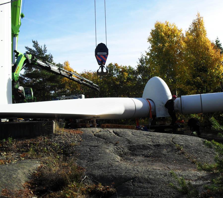 Besiktning av rotor före återmontering